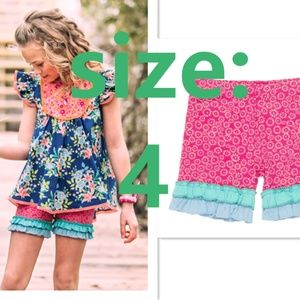NEW Wildflowers Surfs Up Shorties size 4